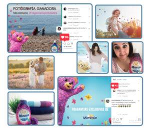 UGC generado a partir de la campaña de influencer marketing para Mimosín