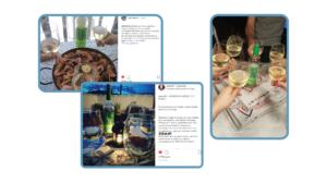 Campaña WOM: contenido compartido por consumidores