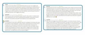 Sólo algunas de las reseñas que obtuvimos durante la campaña