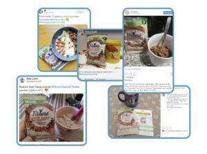 UGC generado por consumidores y clientes potenciales de Nestlé