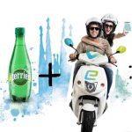 Sampling Motosharing para Perrier #refrescamiciudad