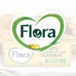 Sampling promocional para Flora con Glovo