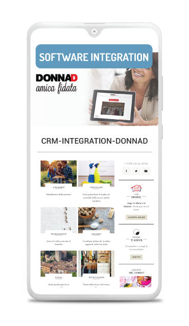 Business case CRM integration of influencer marketing DonnaD