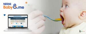 Integración y activación de la base de datos de Nestlé Bebé