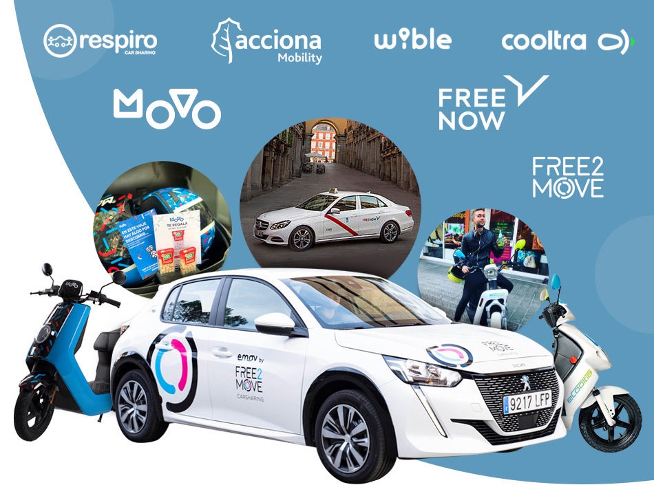 ampling on the go en taxis y carsharing o motosharing