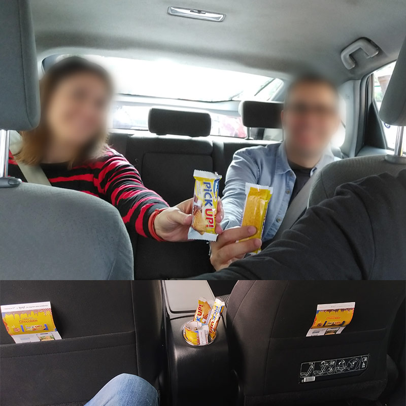 Sampling en taxis FreeNow con recomendación