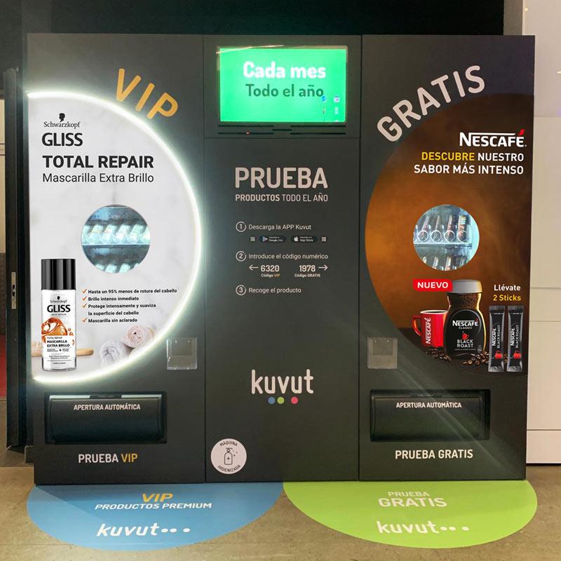 Store sampling mediante sampling en Máquinas Kuvut
