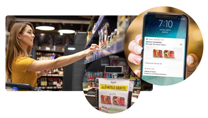 Consigue un gran alcance e impactos con el sampling en supermercados de Madrid y Barcelona