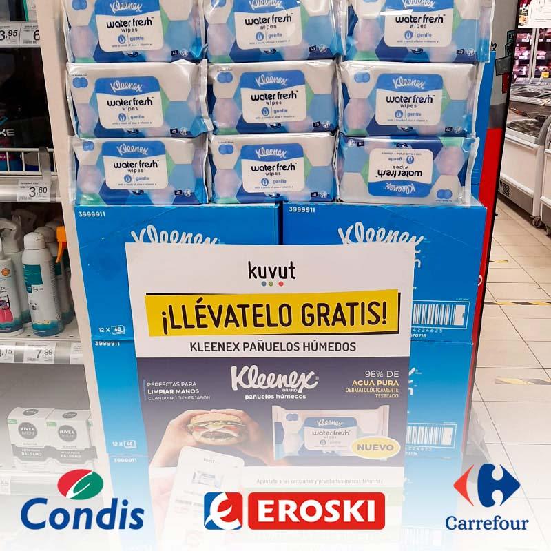Store sampling en supermercados