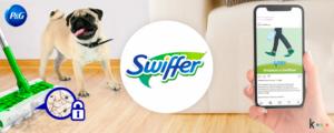 Cómo incrementamos los seguidores en Instagram para Swiffer