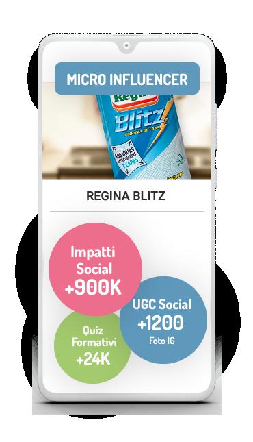 Business Case micro influencers Regina Blitz