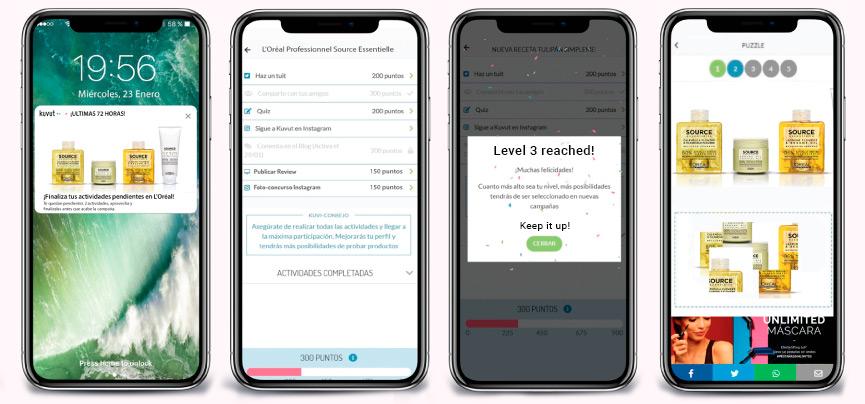kuvut app for online market analysis, influencer marketing and sampling