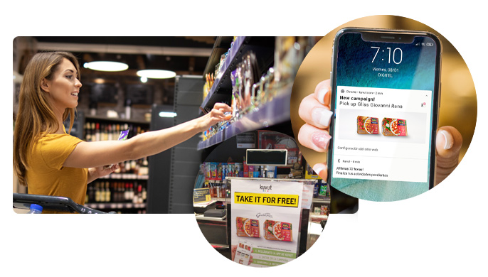 Supermarket sampling reach and experience
