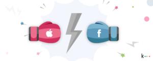 Apple vs Facebook: cómo afecta esto a las marcas
