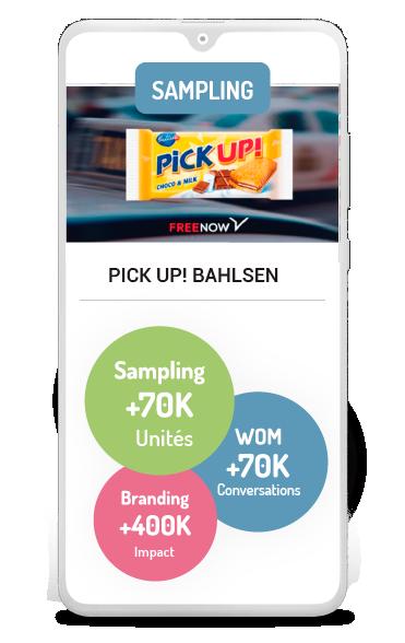 Business case sampling Bahlsen