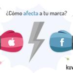 Apple vs Facebook: se calienta la relación entre estos dos gigantes