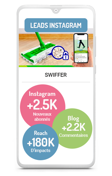 Génération de leads Business case de SWIFFER