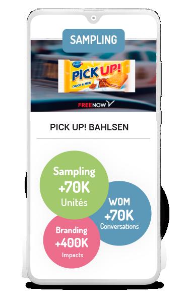 Marketing d'Influence Business case d'échantillonnage de Bahlsen