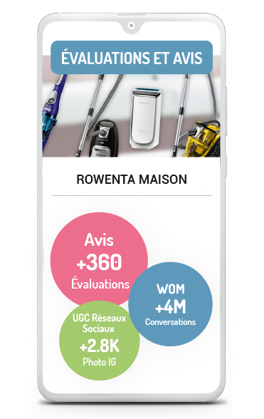 Marketing d'Influence Business case Evaluations et avis de Rowenta