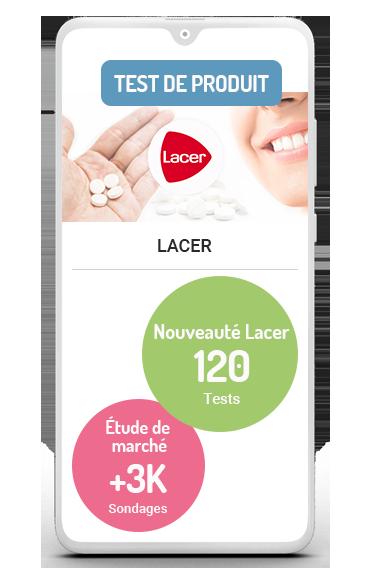 Business case étude de marché test de produit Lacer