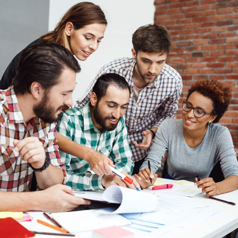 Types d'études de marché créativité et tendances