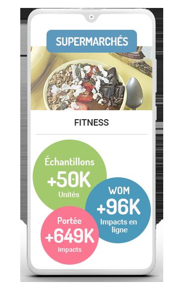 Business Case distributeurs d'échantillons Fitness