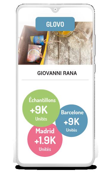 Business case Glovo Giovanni Rana