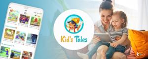 Una activación de descargas app en Android e iOS para una app dirigida a niños