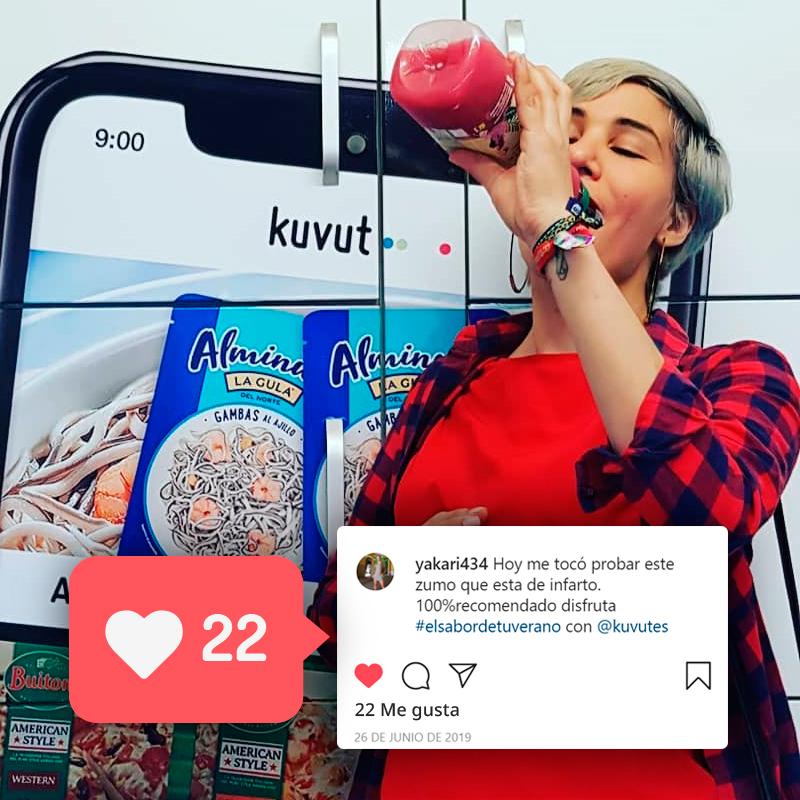 Realiza campañas de influencers marketing con consumidores