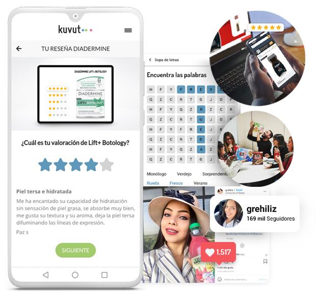 Realiza campañas de influencers marketing con la tecnología de la app de Kuvut